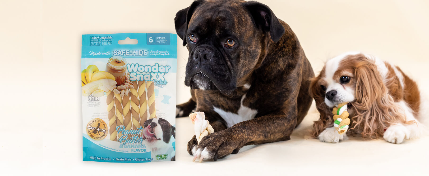 Wonder Snaxx Twists – Peanut Butter & Banana